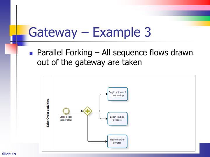 Gateway – Example 3