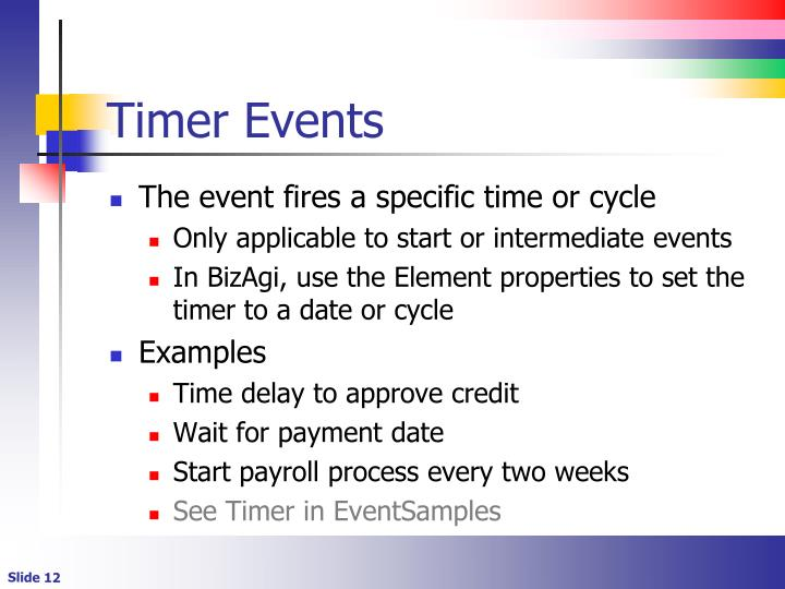 Timer Events