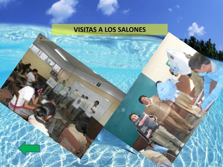 VISITAS A LOS SALONES