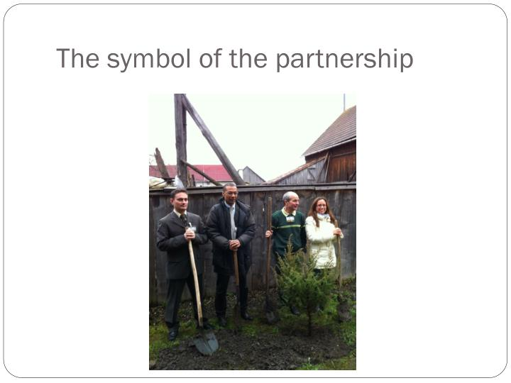 The symbol of the partnership