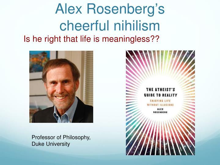 Alex Rosenberg's