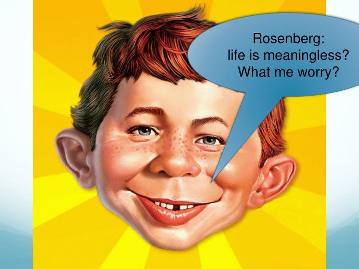 Rosenberg: