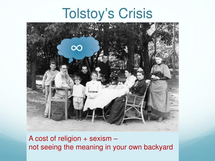 Tolstoy's Crisis