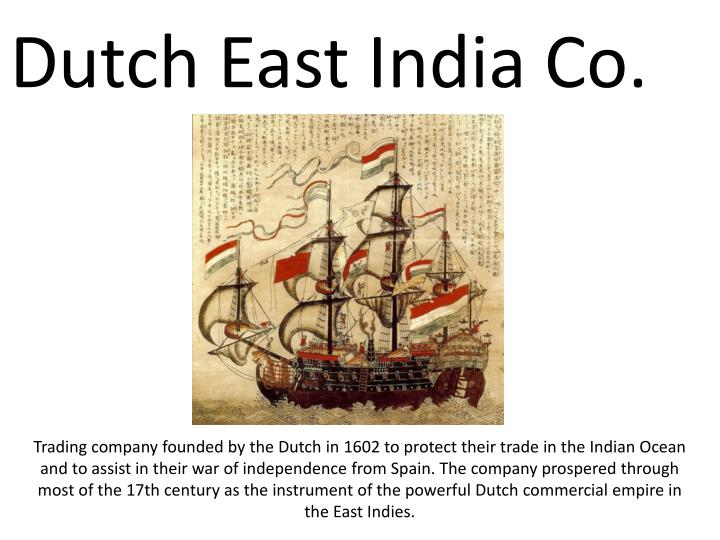 Dutch East India Co.