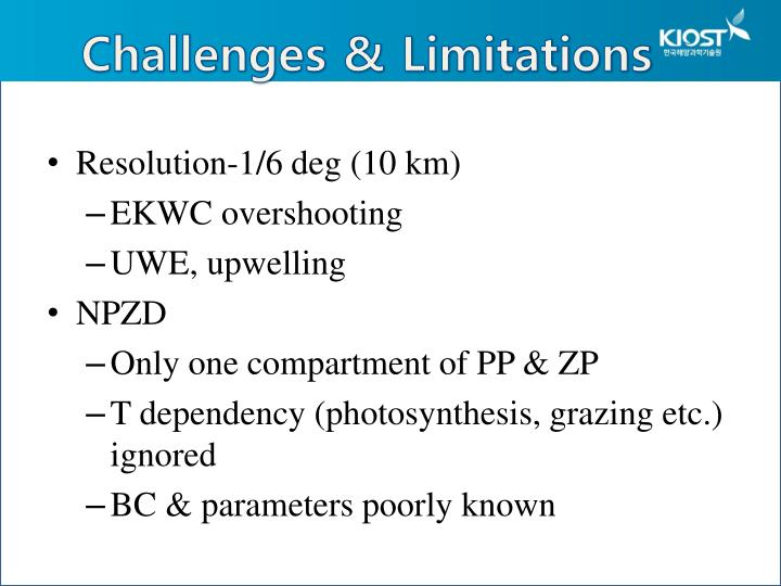 Challenges & Limitations