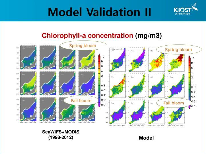 Model Validation II