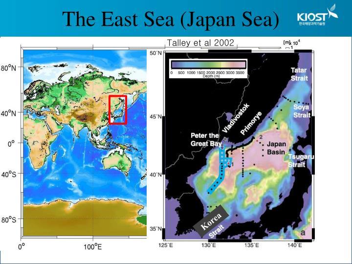The East Sea (Japan Sea)