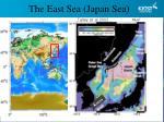 the east sea japan sea