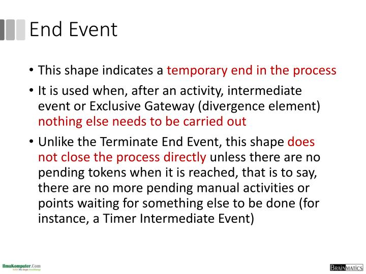 End Event