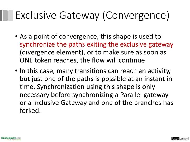 Exclusive Gateway