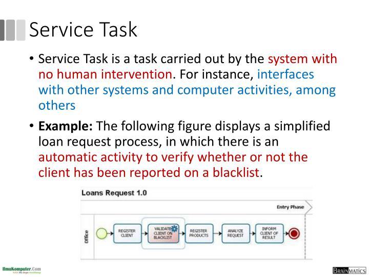 Service Task