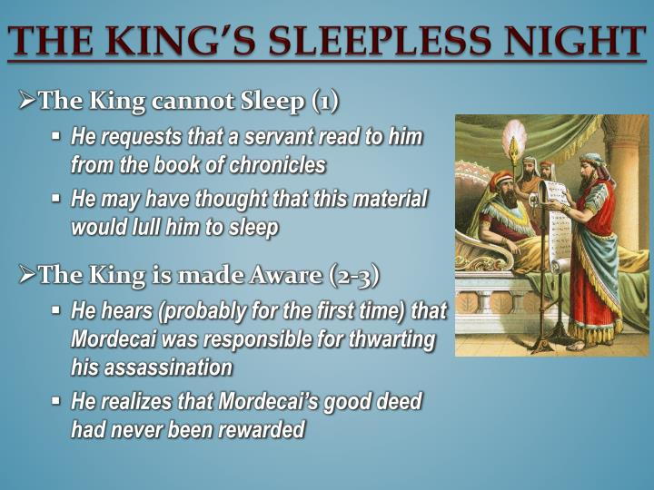 The King's Sleepless Night