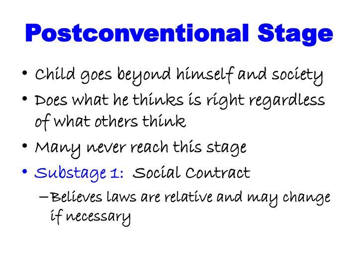 Postconventional