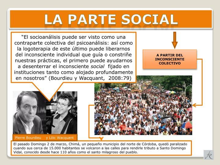 LA PARTE SOCIAL