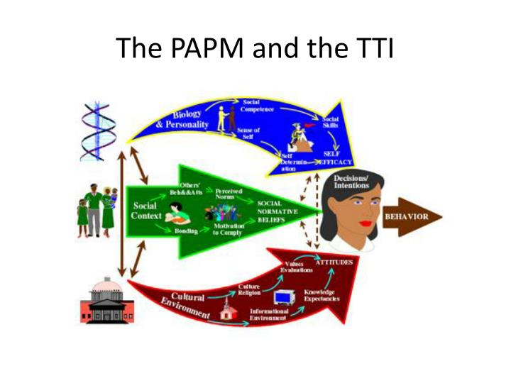 The PAPM and the TTI