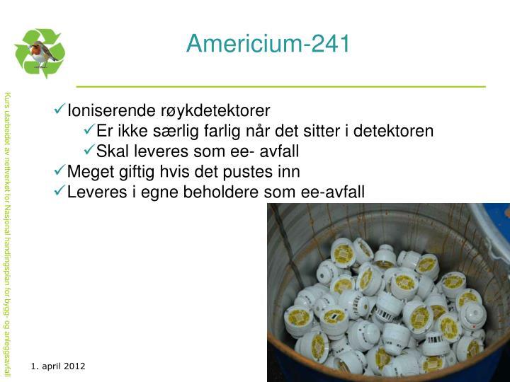 Americium-241