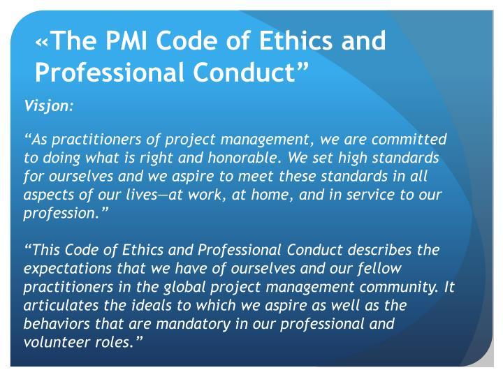 «The PMI Code