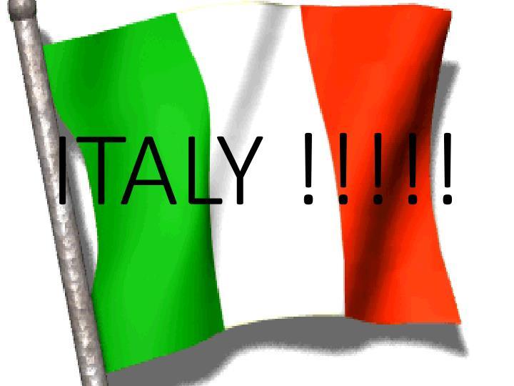 ITALY !!!!!