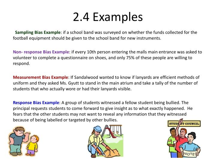 2.4 Examples