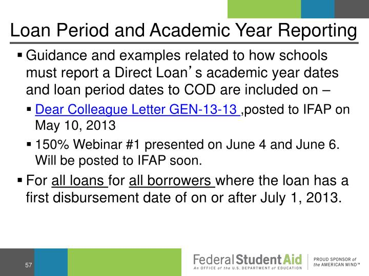 Loan Period and Academic Year