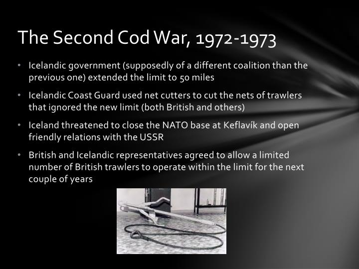 The Second Cod War, 1972-1973