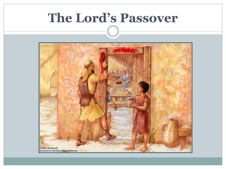The Lord's Passover