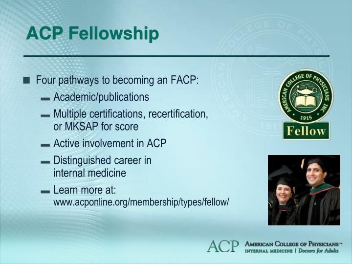 ACP Fellowship