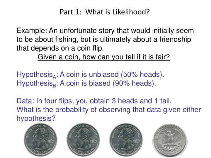 Part 1:  What is Likelihood?