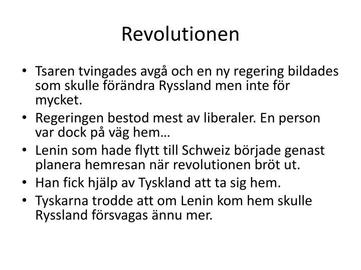 Revolutionen