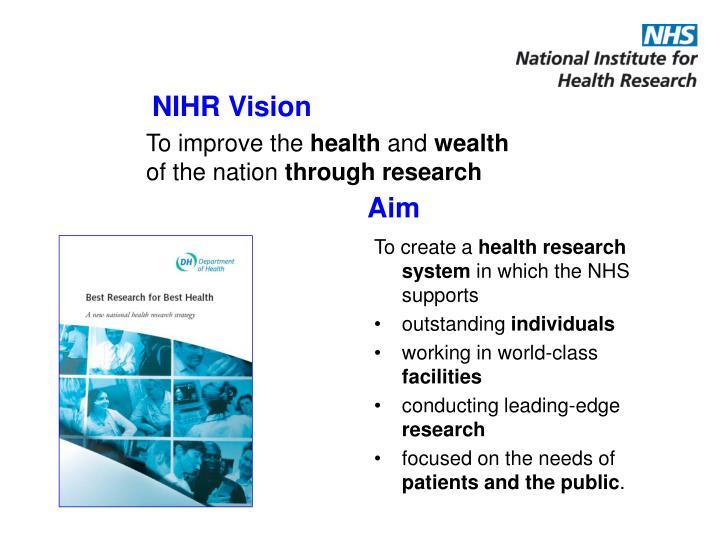 NIHR Vision