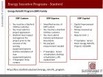 energy incentive programs stanford