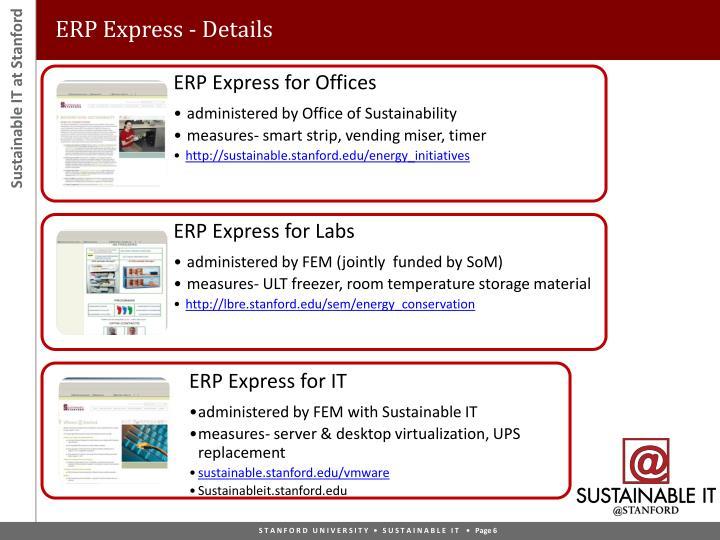 ERP Express - Details