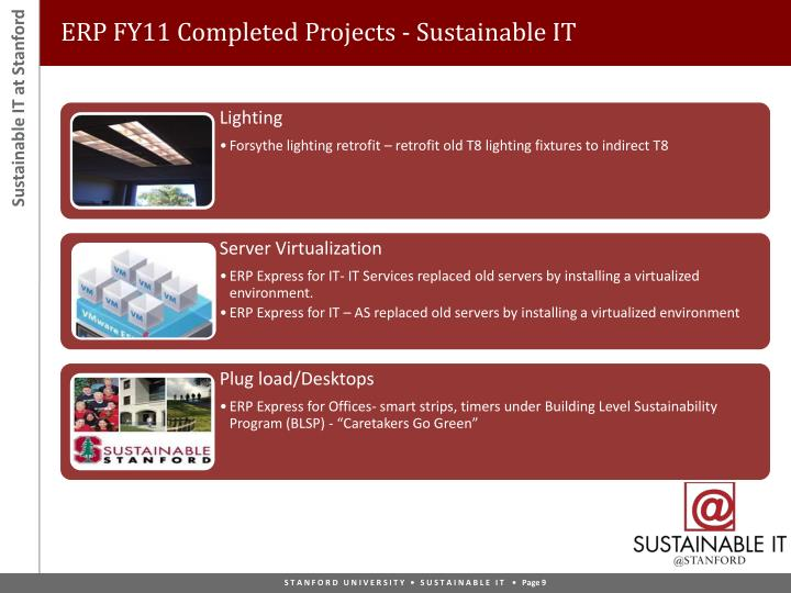 ERP FY11 Completed