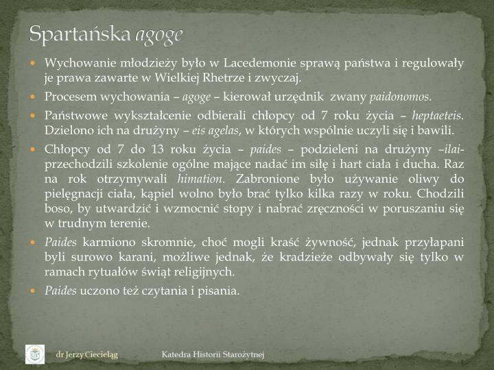 Spartańska