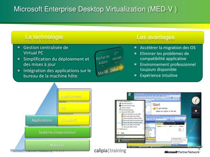 Microsoft Enterprise Desktop