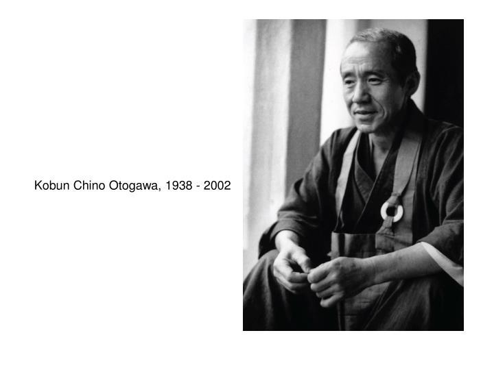 Kobun Chino