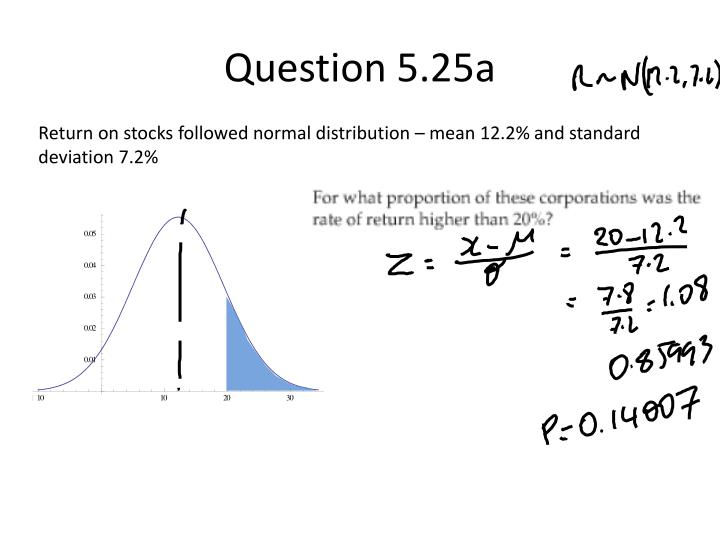 Question 5.25a