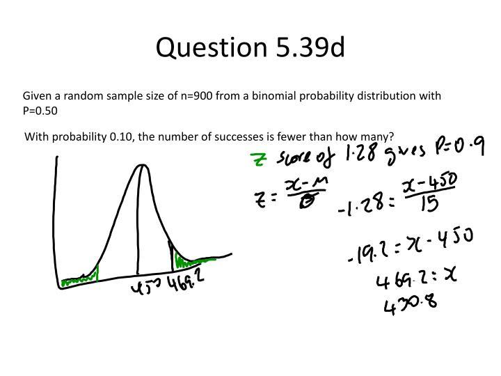 Question 5.39d