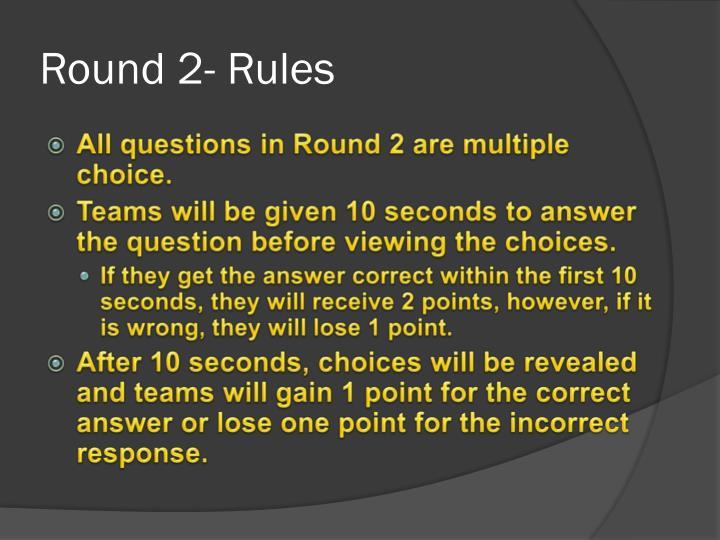 Round 2-