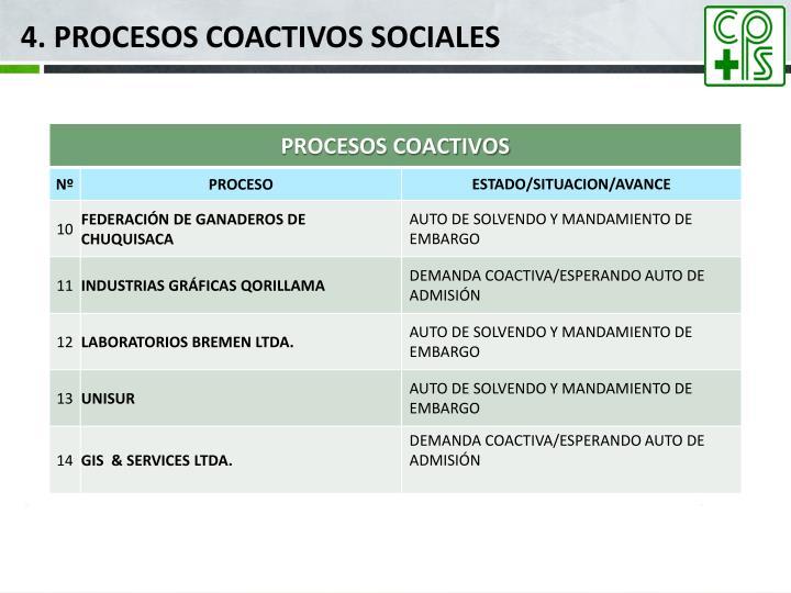 4. PROCESOS COACTIVOS