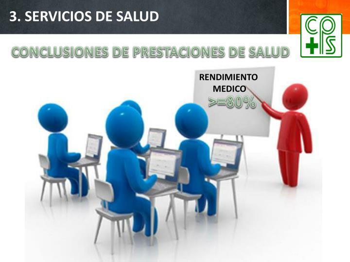 3. SERVICIOS DE SALUD