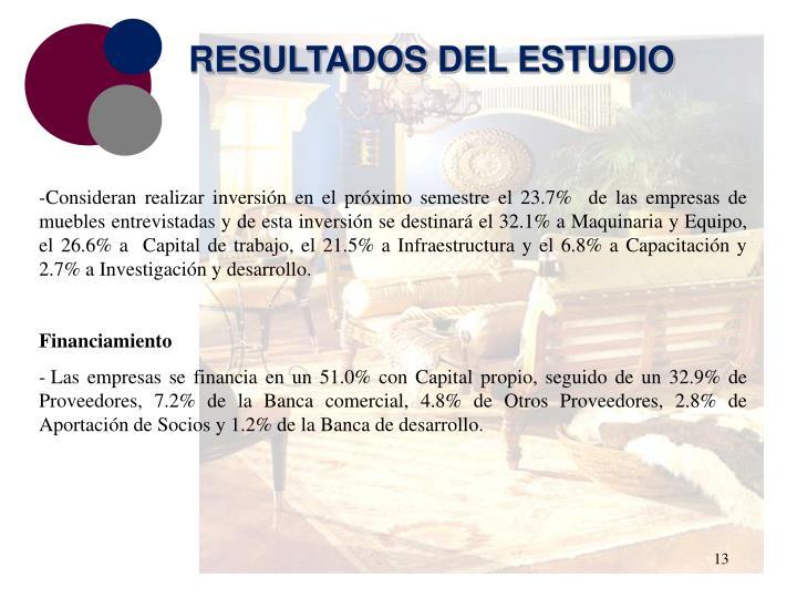 RESULTADOS DEL ESTUDIO