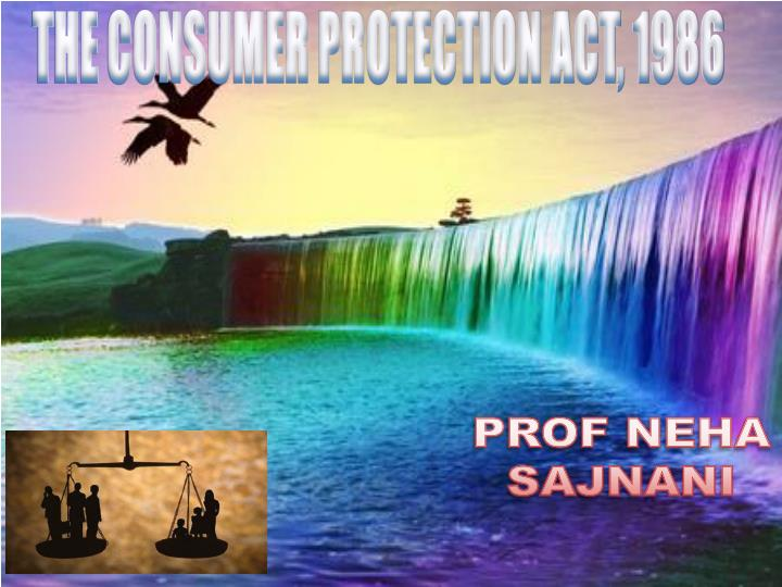 criticism on consumer protection act