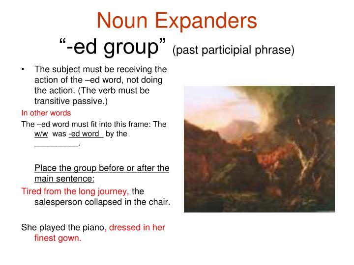 Noun Expanders
