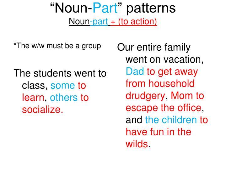 """""""Noun-"""
