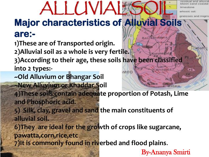 Ppt soils of sri lanka powerpoint presentation id 2065869 for Different types of soil and their characteristics