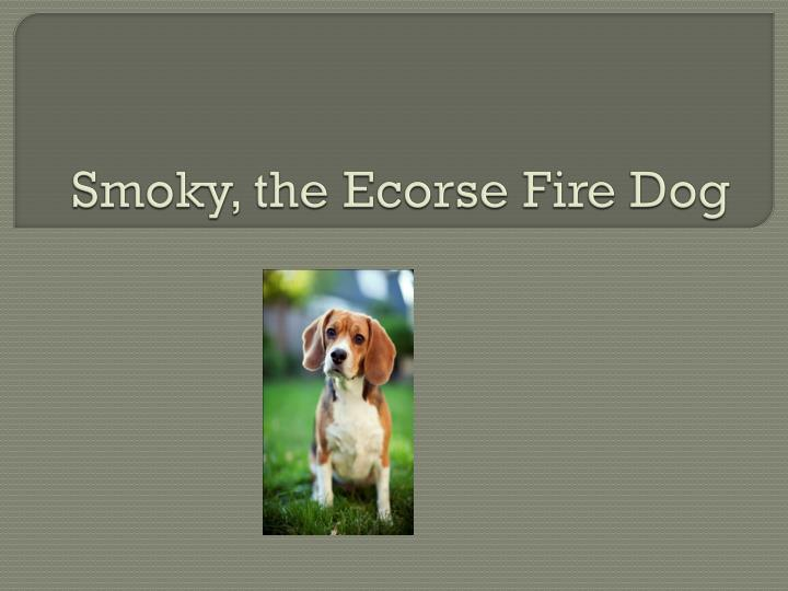 Smoky the ecorse fire dog