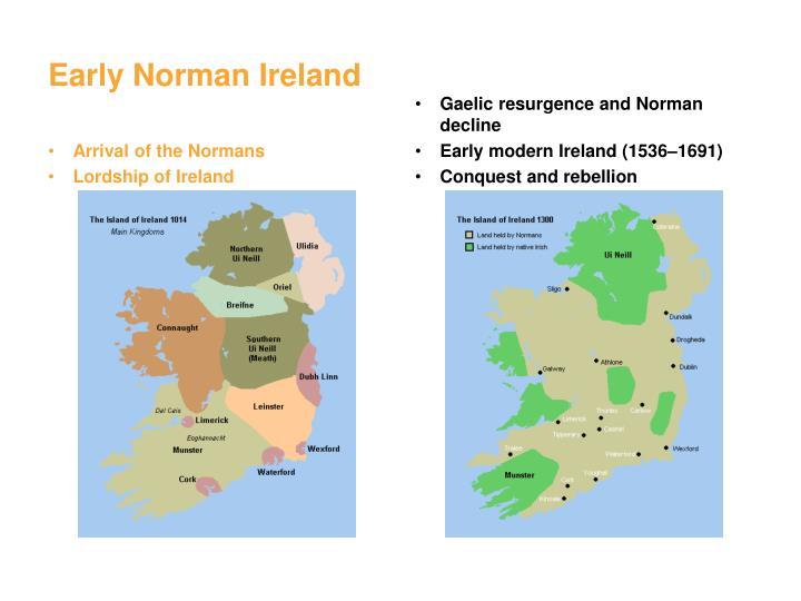 Early Norman Ireland