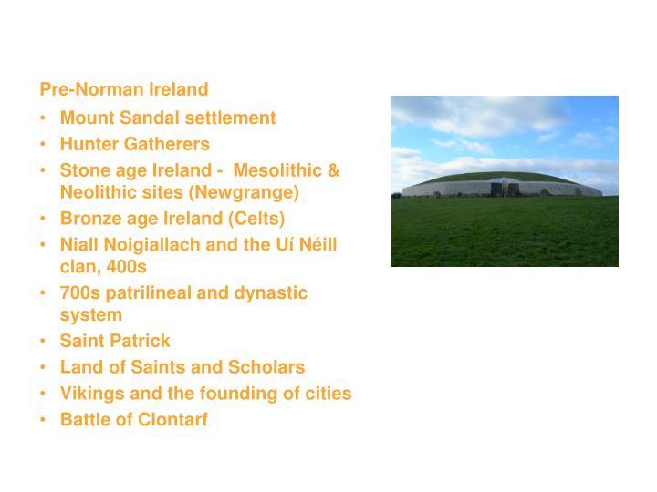 Pre-Norman Ireland