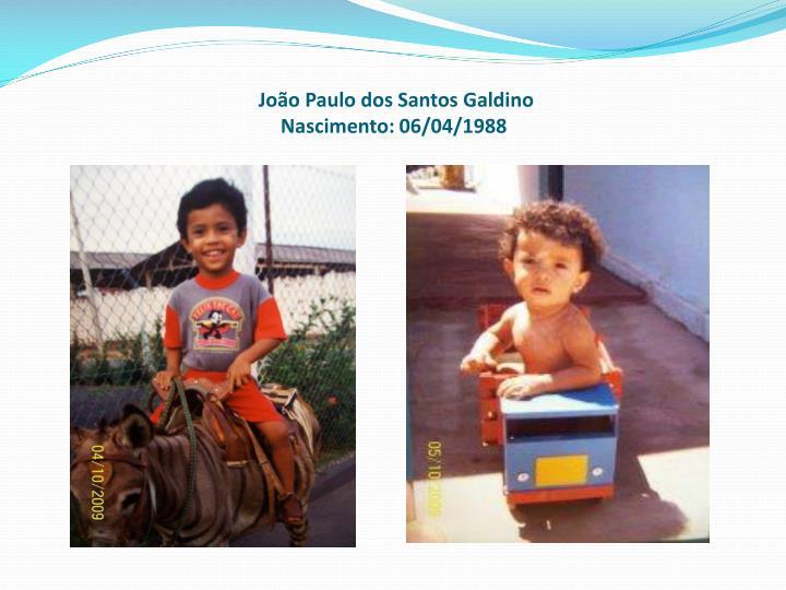 João Paulo dos Santos Galdino